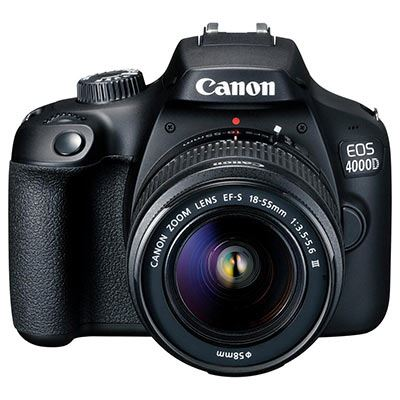 Canon EOS 4000D Digital SLR Camera with 18-55mm III Lens
